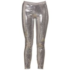 Women's Boohoo Beth Silver All Over Sequin Leggings Online ($7.85) ❤ liked on Polyvore featuring pants, leggings, silver sequin pants, silver leggings, legging pants, sequin trousers and silver sequin leggings