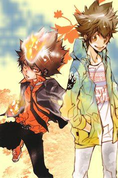 Sawada Tsunayoshi (Tsuna)  27   Judaime Vongola   Katekyo Hitman Reborn!