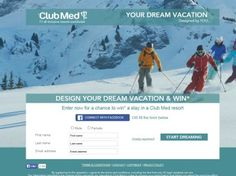 """The """"Your Dream Vacation"""" Sweepstakes"""