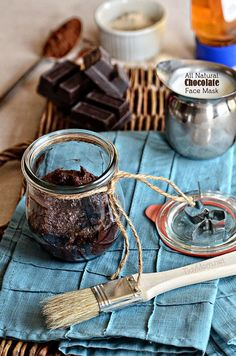 DIY Chocolate Oatmeal Face Mask: Cocoa is beneficial to winter's dry, itchy skin thanks to its hydrating properties