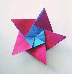 origami star tutorial and templates for pentagon starting shape I have a pentagon template, but am always losing these instructions. Thanks for posting this so I can repost on my board - and always be able to find it.