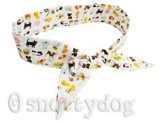 Cooling bandana - £12 - cats n dogs fabric...available NOW!