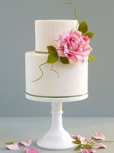Single Flower Cake