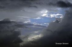 Luz entre la avecinante tormenta