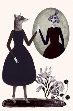 Women Who Run With The Wolves - Katie Ponder Illustration