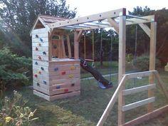 Backyard Swing Set http://samscustomsets.com/Pictures.html