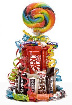 mini candy cake