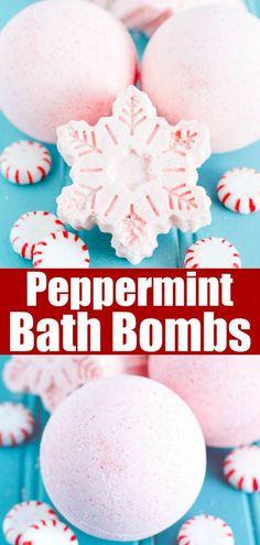 Peppermint Bath Bombs DIY Peppermint Bath Bombs - how to make peppermint essential oil bath bombsDIY Peppermint Bath Bombs - how to make peppermint essential oil bath bombs Wine Bottle Crafts, Jar Crafts, Bath Boms Diy, Essential Oil Bath Bombs, Essential Oils, Christmas Bath Bombs, Homemade Bath Bombs, Diy Bath Bombs Easy, Bath Bomb Recipes