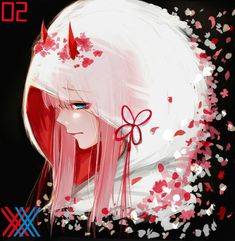 Image uploaded by ZeroTwo. Find images and videos about anime, darling and darling in the franxx on We Heart It - the app to get lost in what you love. Fan Anime, Anime Manga, Anime Art, Mecha Anime, Zero Wallpaper, Hokusai, Waifu Material, Zero Two, Best Waifu