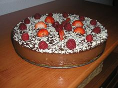 Tarta de chocolate riquísima Thermomix