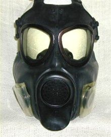 Genuine US Army issued Field Protective Gas Mask with drinking tube. Army Day, Us Army, Army Times, Women's Army Corps, Army Medic, Army Post, Combat Gear, Military Surplus, Cool Masks