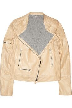 Reed Krakoff | Zipped leather motorcycle jacket | NET-A-PORTER.COM - StyleSays