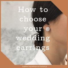 Ένα νυφικό μπορεί να σας μετατρέψει σε μια όμορφη νύφη, αλλά τα νυφικά κοσμήματα είναι αυτή η λεπτομέρεια που θα ολοκληρώσει τη συνολική σας εμφάνιση.  #wedding #weddingday #weddingearrings #weddingjewels #weddingjewelry #haritidis_jewelry #haritidisgr #blog #article #haritidisblog #precious_moments #diamonds #diamond_earrings #earrings #style #howto #wedding_guide #jewels #jewelry Wedding Earrings, Precious Moments, Diamond Earrings, Blog, News, Jewelry, Fashion, Wedding Plugs, Moda