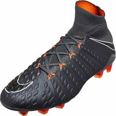 reputable site 81e8f 1256b Nike Hypervenom Phantom 3 Elite DF FG – Dark Grey Total Orange. Football  ShoesSoccer ...