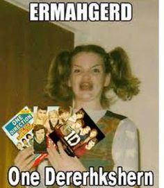 ermahgerd One Direction, 1D, Harry Styles, Niall Horan, Liam Payne, Zayn Malik, Louis Tomlinson, Hazza, Harreh, Harold, Nialler, DJ Malik, Lou, Tommo .xx