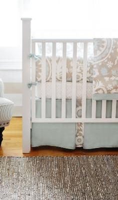 Picket Fence 3 Piece Baby Bedding Set
