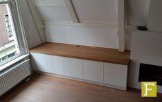 tv meubel dressoir kast maatwerk hillegom meubelmaker design fijn timmerwerk eiken wit