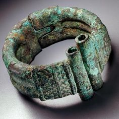 Bracelet, Djenne, Bronze, Mali. Find this and other collectibles at CuratorsEye.com.