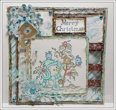 * Anything Goes bei Christmas Stampin All Year Long *