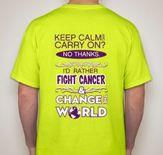 My Relay for Life team is selling tshirts as a fundraiser. Please support our team by purchasing a shirt. They can be shipped anywhere. Campaign going on till April 8th.
