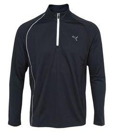 0dea10dea0b Puma Golf Mens Long Sleeve 1 4 Zip Polo Shirt 2012 - http
