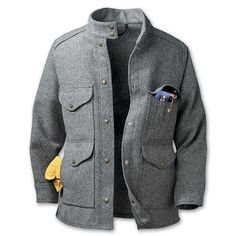 Women's Wool Timber Jacket in Gray, for $280
