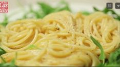 Špagety Cacio e pepe Samos, Spaghetti, Pasta, Ethnic Recipes, Food, Essen, Meals, Yemek, Noodle