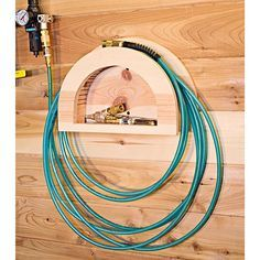 This simple fixture tames unruly air hoses and accessories. Featured in WOOD Issue 234, September 2015