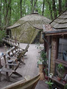 hostel in the forest -  I love being here and the people rock!!!