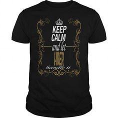 I Love let HILER handle it T shirts