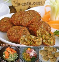 pirasa koftesi : http://ye-mek.net/tarif/pirasa-koftesi