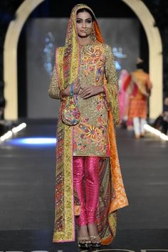 Nomi Ansari at PFDC L'Oreal Paris Bridal Week 2013 Day 3