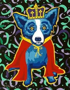 Mardi Gras Blue Dog. Just one more!