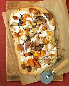 Roasted Root-Vegetable Pizza.