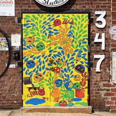 Colorful Doors of NYC.