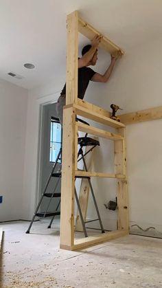 Small Room Design Bedroom, Home Room Design, Home Interior Design, Bedroom Decor, Cosy Bedroom, Girl Bedroom Designs, Small House Design, Bunk Beds Built In, Loft Bunk Beds