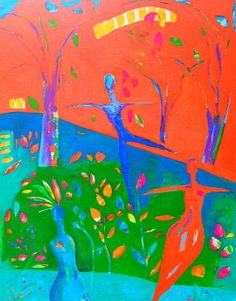 Rachel Ellen Andrews is the artist of this beautiful painting & she's teaching Glorious Goddess workshop in 21 SECRETS Spring!