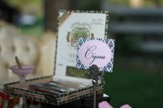 Charutos para oferecer no casamento. #casamento #lembranças #charutos #convidados