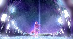 Anime 1800x966 Rin (Shelter) blue background anime girls