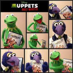 Muppets Most Wanted arrived