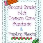 Here are all the 2nd grade English/Language Arts Common Core standards and checklists to track your teaching