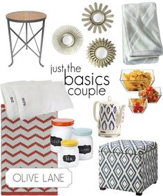 Olive Lane Wedding Registry Services Just the Basics Contemporary Couple Target