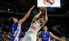 #rudy #baloncesto victoria de los blancos
