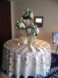 Ivory & gold wedding