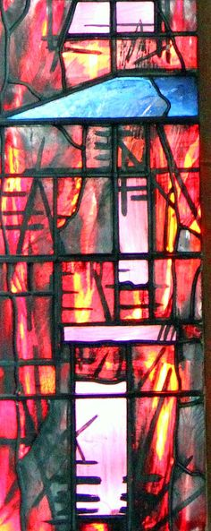 John Piper window detail 3 - Coventry Cathedral