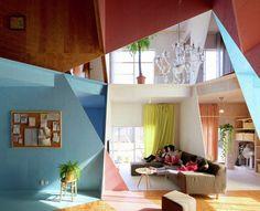 Apartment – House by Kochi Architect's Studio - Home decor and design Kochi, Apartment Interior, Studio Apartment, Apartment Design, Japan Apartment, Apartment Living, Architecture Résidentielle, Studios Architecture, Design Japonais