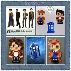 Doctor Who hama beads by renk__ahenk