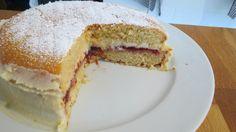 Low FODMAP Victoria sponge cake
