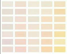 Paleta de cores - vestidos
