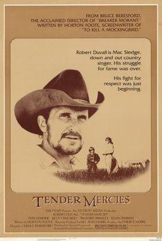 Tender Mercies Movie Poster